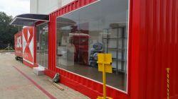 Stand de vendas , Loja Container  , Container  escritório ,plantão de vendas.