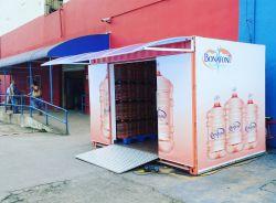 Lojas Container  (Estacionamento de  mercado)