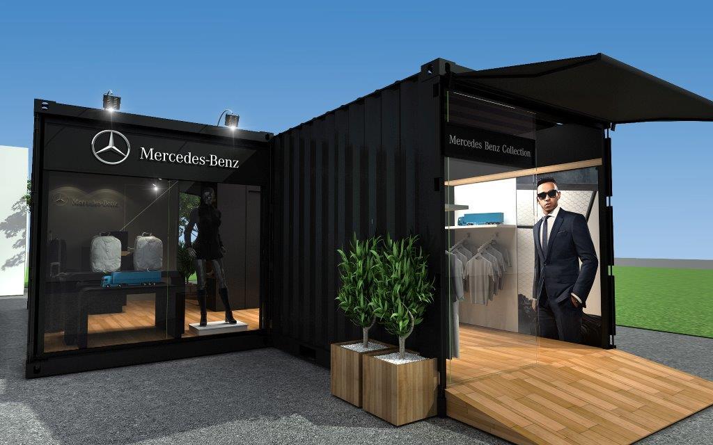 Lojas Container  - Mercedes Benz