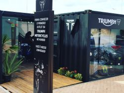 Loja Container  30m² ( Triumph Outlet Catarina Fashion)