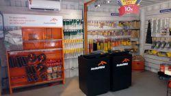 Stand de vendas / Loja Container  dupla
