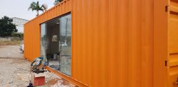 Container Stand de Vendas ( 40hc : 12m x 2.45m)