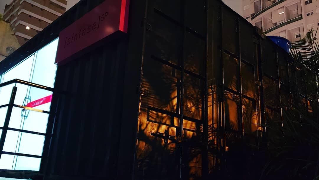 Stand de Vendas - Container Stand de Vendas  2 Síntese 6.00m x 5.00m