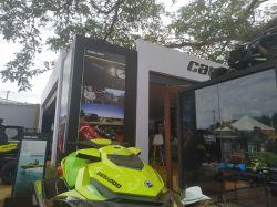 Container Estande / Stand de Vendas para Feira & Eventos   BRP Can-Am Agrishow 2019