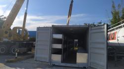 Container  Projeto Exclusivo Heineken  / Container Estoque com Prateleiras e Box