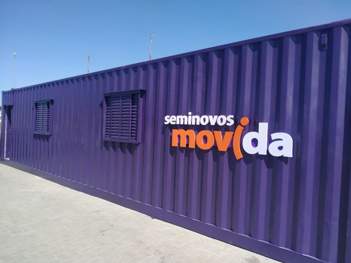 Lojas Container / Container Stand de Vendas / Plantão de Vendas ou Container Escritório para MOVIDA