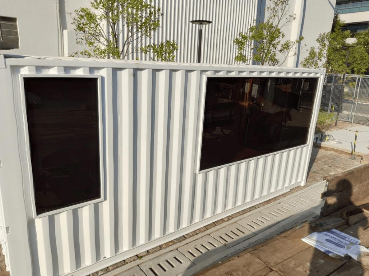 Guarita Container 20 pés Votorantim