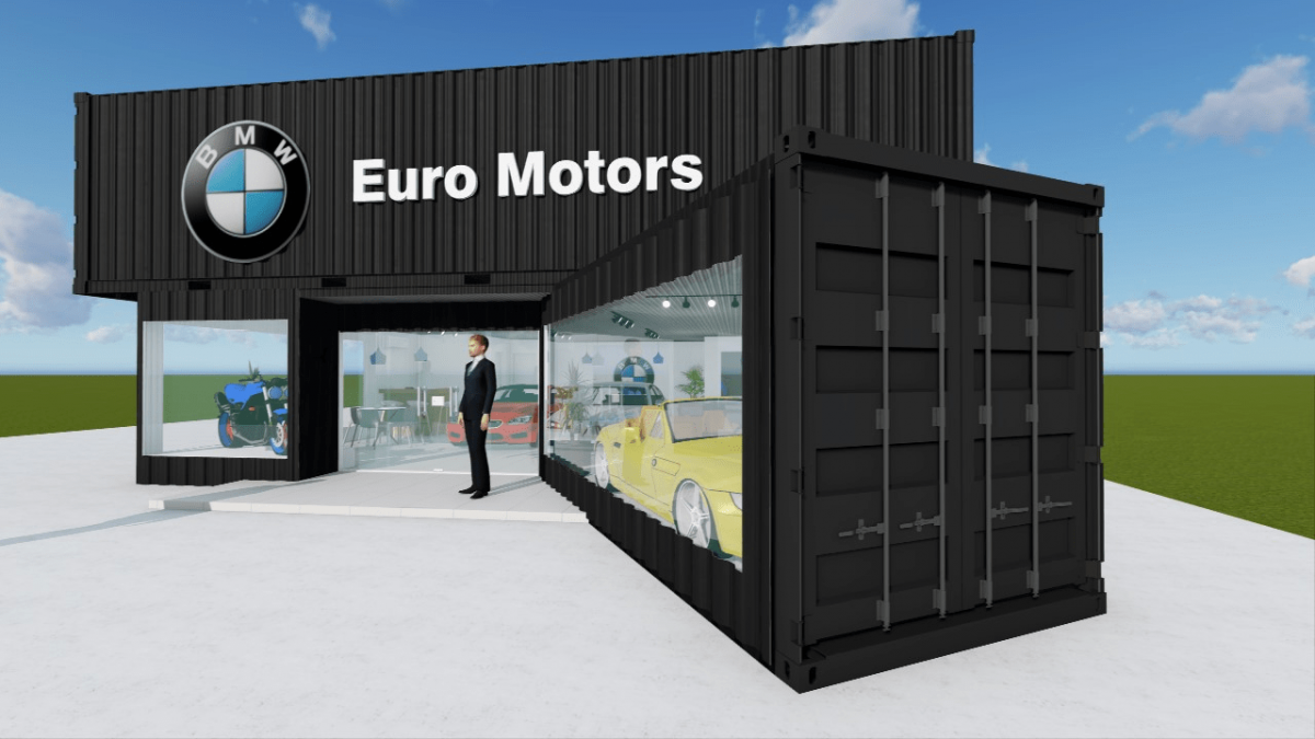 Loja Container BMW Euro Motors