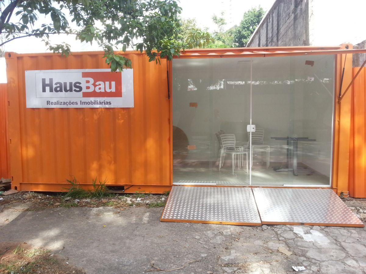 Stand de vendas Container abertura manual